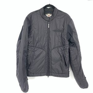 Harley Davidson Black Puffy Jacket